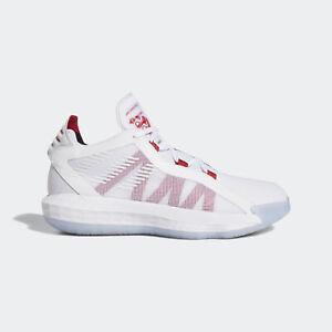 Adidas Dame 6 Gca Ef2504 Men Basketball Shoes Damian Lillard White Scarlet Ebay