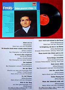 LP Freddy Quinn: Seine grossen Erfolge II (Polydor 833 001-1 HiFi) D 1987