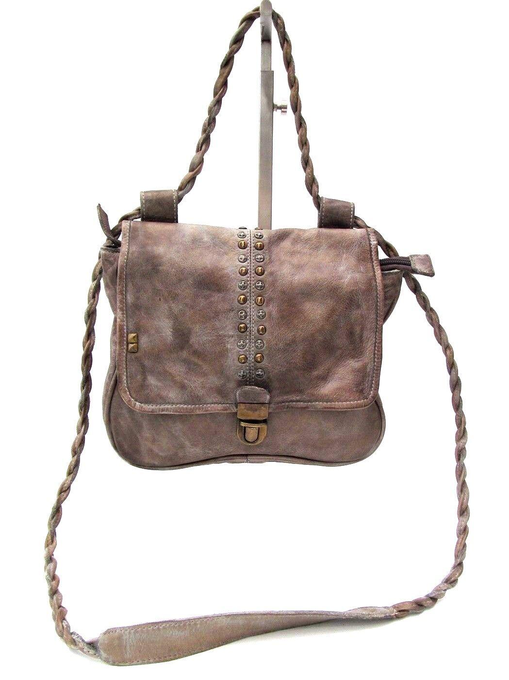 Desiderius MONS ABRIL earl grau, grau Tasche Umhängetasche Vintage    | Diversified In Packaging  | Online einkaufen  | Sonderpreis