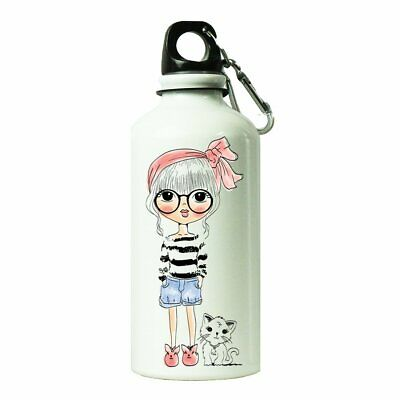Printed Cute Pink Unicorn Sipper Bottle To Beaker Drinking Water And Shake