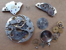 Titoni 21 jewels watch movement parts, not complete, balance working well.