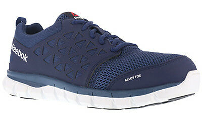 Reebok RB4043 Sublite Cushioned Lace Up Alloy Safety Toe SD Athletic Oxford Shoe