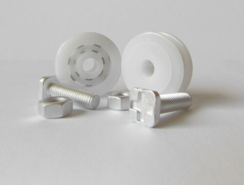 Greenhouse 28mm Eden Door Runner Sliding Wheels Spare Parts