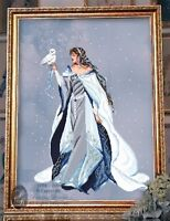 Sale Complete X Stitch Kit my Lady Of The Snow Rl24 By Passione Ricamo