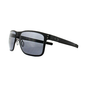 bdb82cb287a55 Image is loading Oakley-Sunglasses-Holbrook-Metal-OO4123-01-Matt-Black-