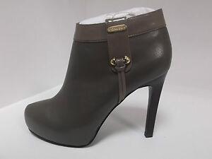 Tacco Grigia In Gaudì Shoes Tronchetti 12 Pelle Scarpe Cm Donna Boots Sq88O