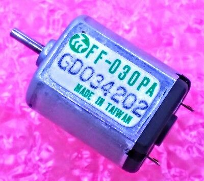 Lot of 1 or 25 10 3 1.5-3 VDC MINI-MOTOR