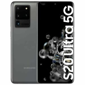 Samsung Galaxy S20 Ultra 128GB 5G DS Gris très bon état Utilisé A.A346
