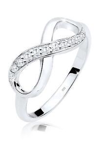Elli Ring Infinity Eye Catcher Glanzvoll Zirkonia 925 Silber