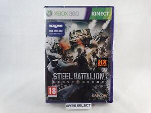 STEEL-BATTALION-HEAVY-ARMOR-MICROSOFT-XBOX-360-KINECT-ITALIANO-NUOVO-SIGILLATO