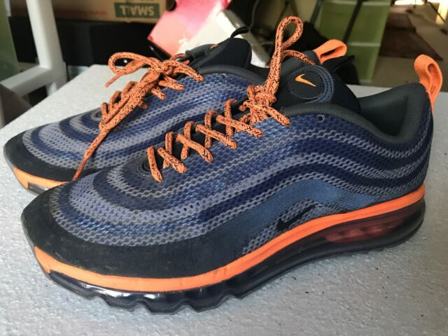 Mens size 9 Nike Air Max 97 2013 HYP Hyperfuse Shoes 631753 500 (!!Very Rare!!)