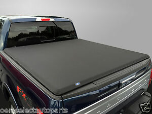 Details About Oem New 2015 Ford F 150 Hard Tri Fold Tonneau Cover 65 Short Bed Cap Torzatop