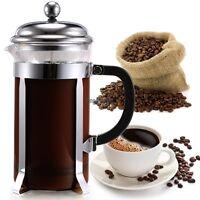 1l Kaffeebereiter Teebereiter Kaffeekanne Teekanne Pressfilterkanne Kaffeekocher