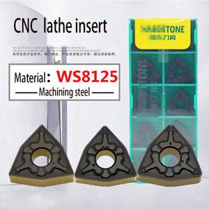 HQ WNMG 432 carbide insert lathe turning insetrs for steel 10pcs WNMG 080408
