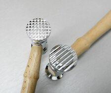 METAL TEXTURING HAMMER JEWELRY MAKING DESIGN FINISH CHECKER & STRIPE TEXTURES