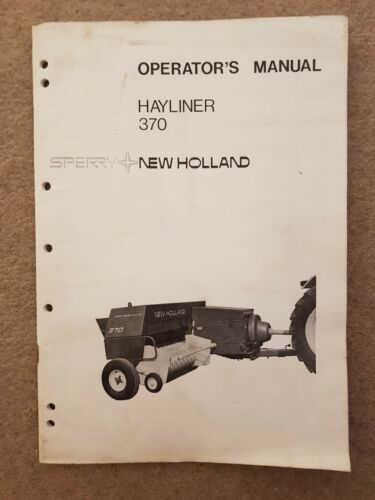 New Holland empacadora 286 hayliner piezas Manual