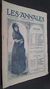 Revista Dibujada Las Anales 5 Octubre 1913 N º 25 Politica Y Literaria ABE
