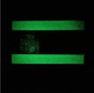 Airsoft-SPAIN-PATCH-TAN-Parche-PVC-3D-Bandera-Espanola-75-x-50-mm-fluorescente