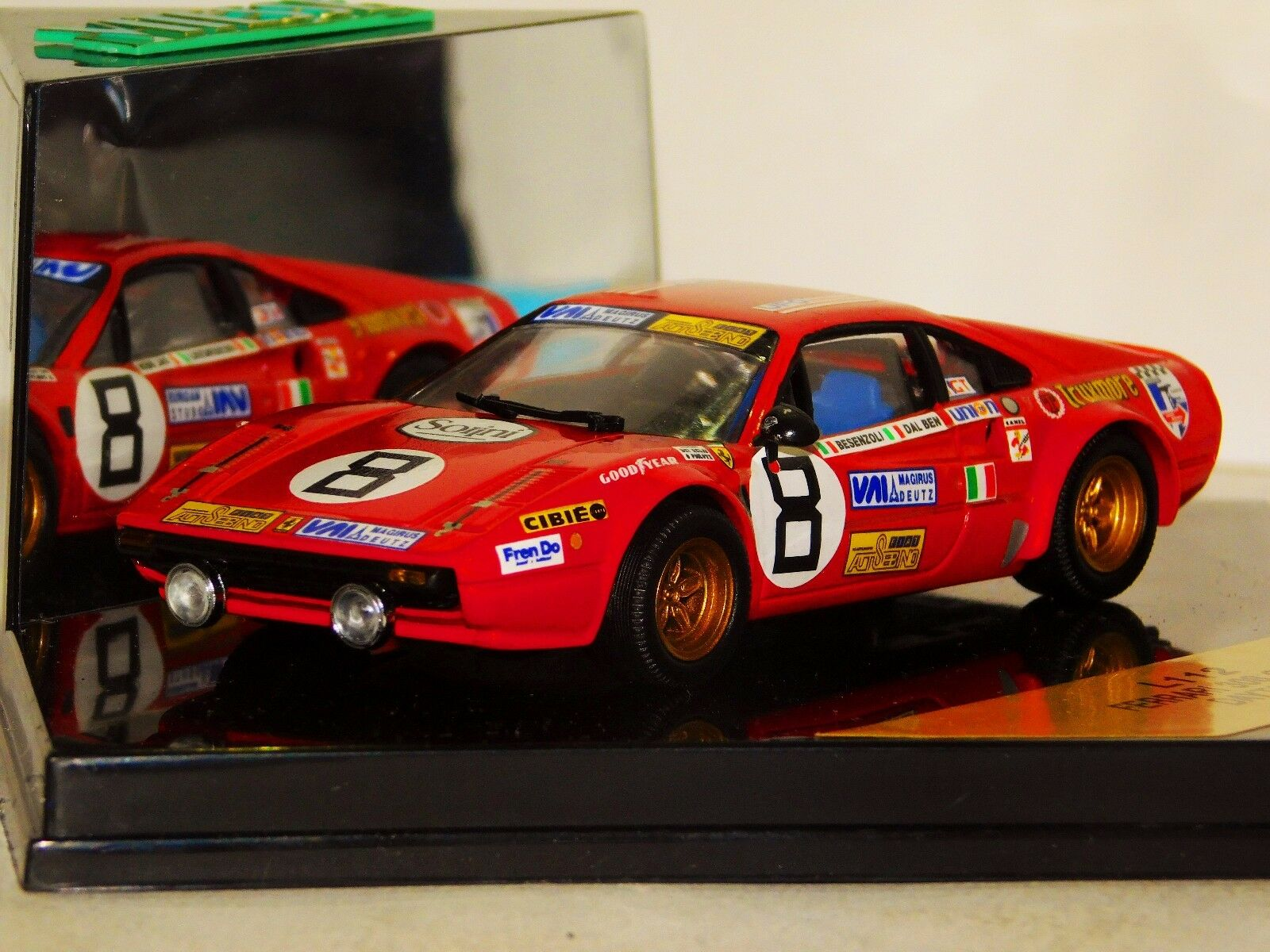 FERRARI 308 GTB BESENZOLI DAYTONA 1978 VITESSE L112 1 43