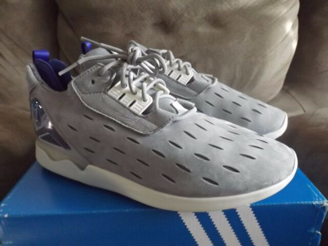 quality design 83121 37455 adidas ZX 8000 Blue Boost Gray Men's Running Shoes Size 11 W/box B25871