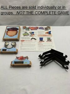 U-PICK-Guess-Who-Mix-039-N-Mash-Edition-parts-pieces-checklist-pad-heads-mouths-eye