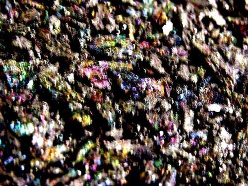 Rainbow carborundum multi color intense rainbow color 1//4-3 inch 1//2 pound lots