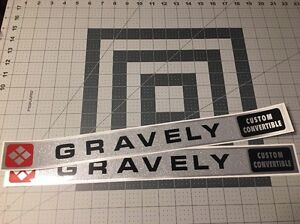 Gravely-Custom-Convertible-Decal-Set-Of-Two-Walking-Tractor-6-6-hp-L8