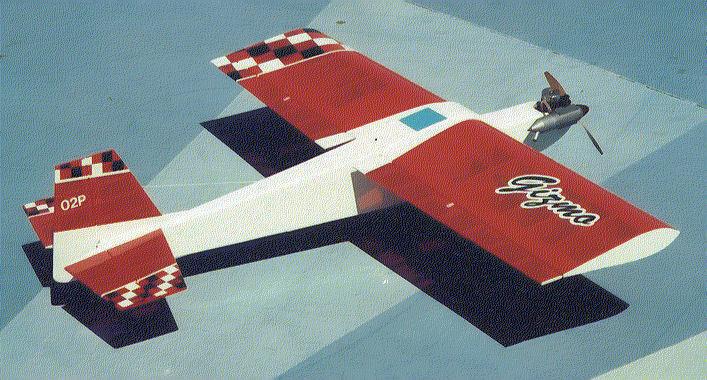 GIZMO diverdeido volar 52 Pulgadas Kit de corte láser envergadura Radio Control avión .32 - .53 Motores