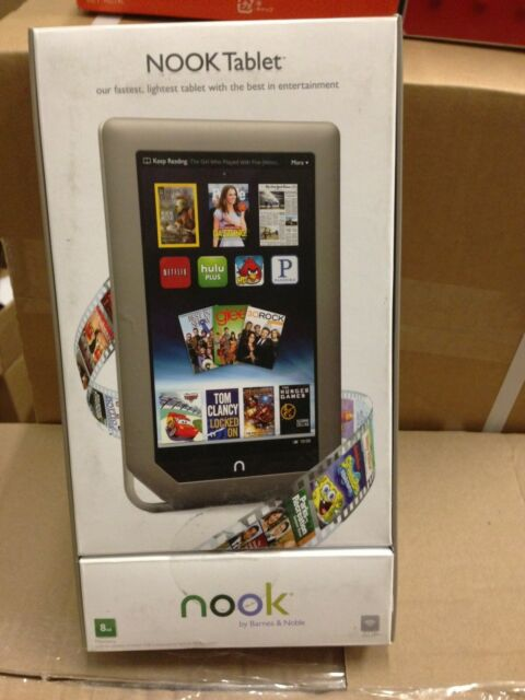 "bn Barnes & Noble NOOK Tablet 16GB 1GHz Wi-Fi 7in"" BNTV250"