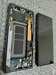 Mint-Samsung-Galaxy-Note-9-Note9-N960-LCD-Digitizer-Screen-Frame-Black-Issue