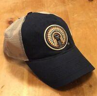 Rare Vintage Illinois Illini Illiniwek Snapback Hat Cap Drew Pearson