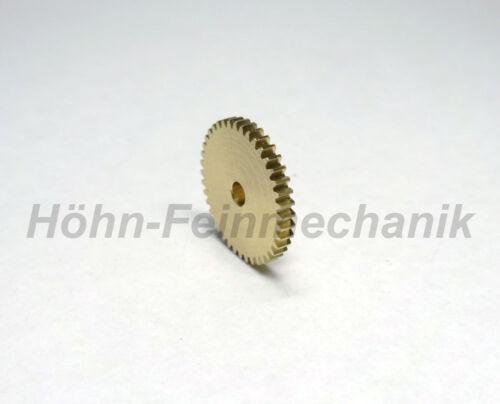 Ingranaggio Cilindrico Ottone Modulo Ingranaggio 0,3 40 Denti