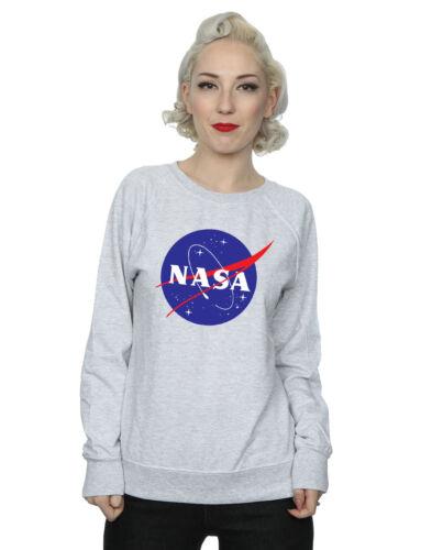 NASA Donna Classic Insignia Logo Felpa
