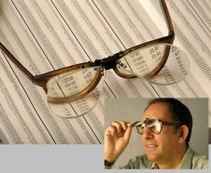 New-Flip-Up-Clip-On-x1-5-Magnifying-Reading-Glasses-Eye-Magnifiers-Lenses-Specs