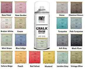 New chalk paint spray water based 19 elegant colours - Pintura ala tiza leroy merlin colores ...