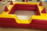 6 X 6 Ball Pool With 4 Air Jugglers And Inc 4 Sandbags (red & Yellow)