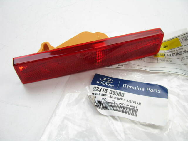 New Genuine OEM Rear Right Side Bumper Reflector Lens For 2011-13 Kia Forte