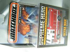Matchbox Supreme Heroes Hazard Squad Feuerwehr Fire Engine aus Welle A RAR