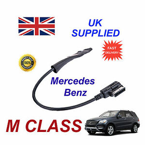 Mercedes-CLASE-M-2009-Integrado-Bluetooth-Musica-Modulo-para-Iphone-HTC-Nokia
