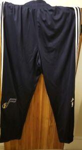 f0c52b7106cd Utah Jazz adidas Team Issue NBA Players Warm Ups Authentic On Court ...