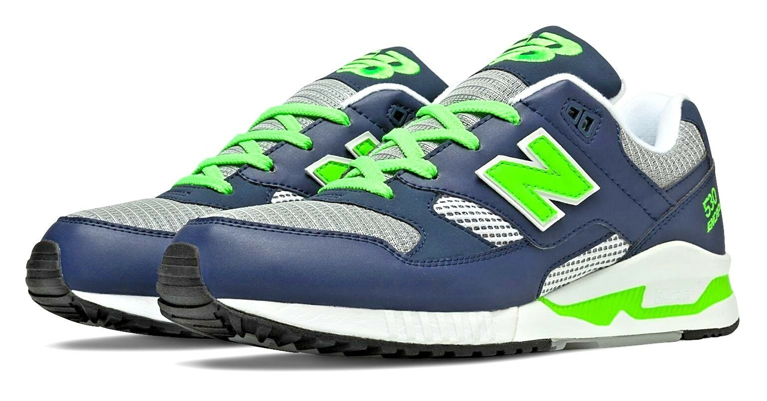 NEW New Balance Men's shoes M530NG 90's Running 530 Grey Navy Green LIFESTYLE