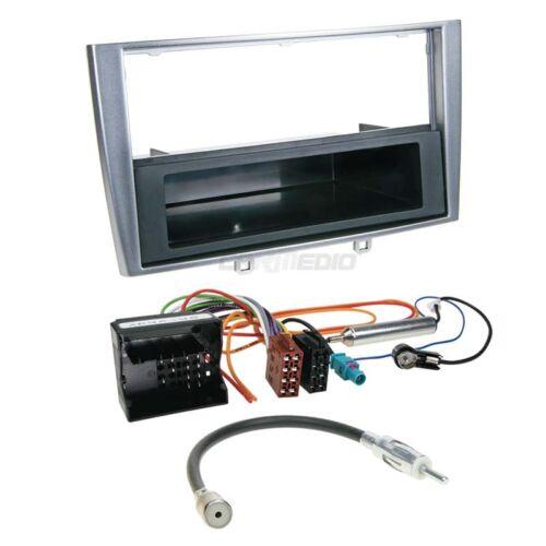Autorradio kit de integracion 1-din peugeot 308 07-14 cable enmarcar plata