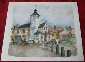 Architecture-Pays-de-Galles-Wales-houses-Ray-Evans-Laugharne-Town-Hall-Dyfed