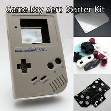 GameBoy Zero Kit DMG-01 Shell Controller PCB Board Glass Screen Silicone Buttons