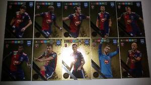 Panini fifa 365 Adrenalyn XL revista//12 original cards Limited Edition card