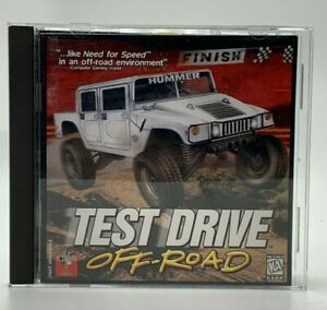 Vintage-Test-Drive-Off-Road-PC-1997-CD-ROM-Computer-Driving-Racing-Video-Game