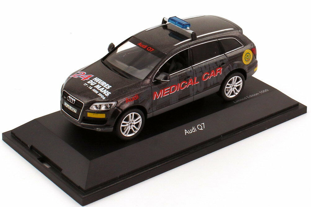 AUDI Q7 QUATTRO 4.2 FSI MEDICAL CAR 24 HOURS LE MANS 2006 SCHUCO 04755 1 43