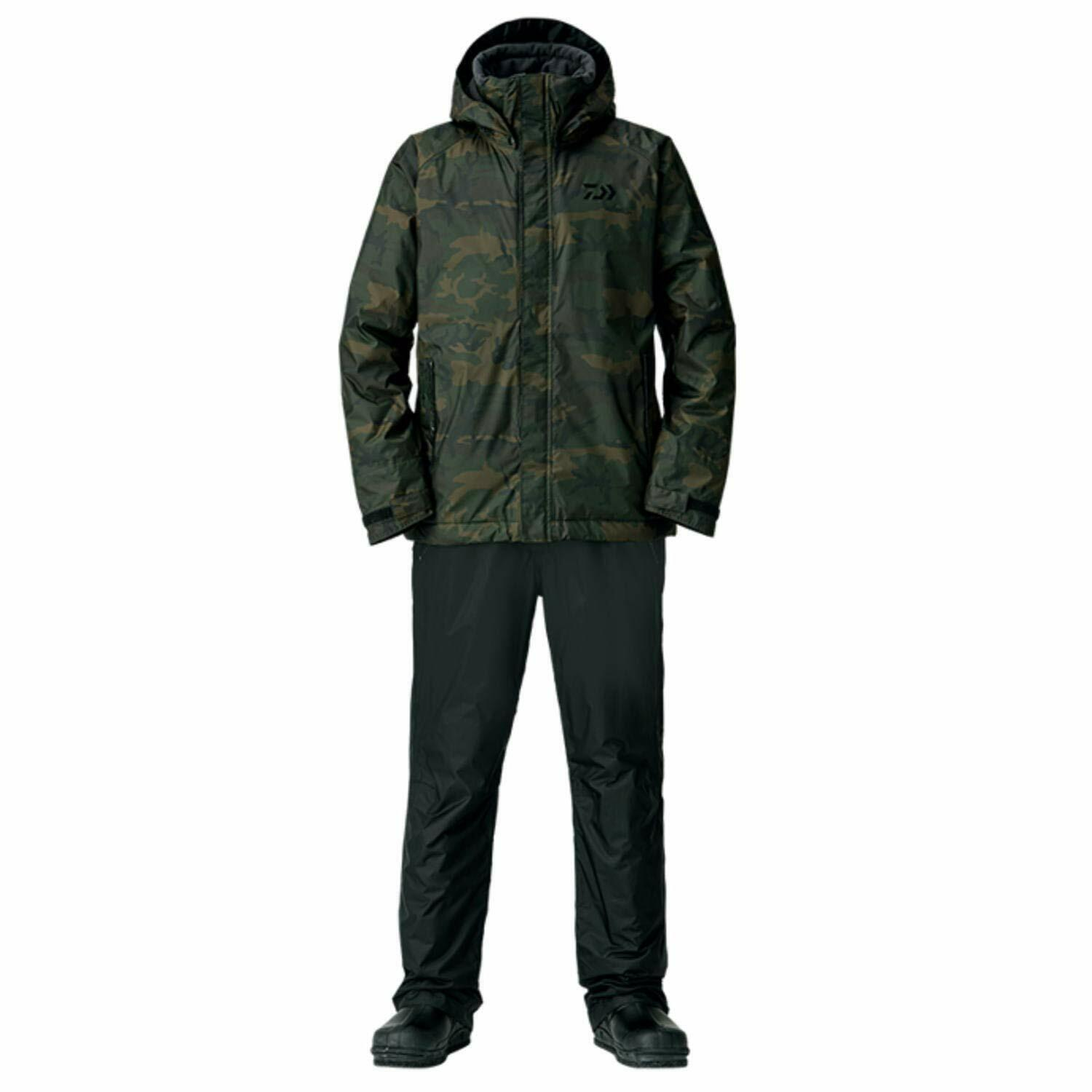 Daiwa Rainmax Winter Suit Pants DW-35008 Camouflage 2XL 182-188 New From Japan