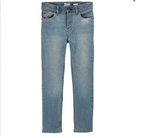 NWT $34 Oshkosh Boys Jeans Assorted Styles Colors Sizes Regular Slim Husky 6-14