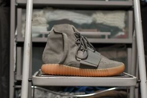 innovative design 7feb9 7d018 Details about ADIDAS YEEZY BOOST 750 KANYE WEST Grey GUM Chocolate 350 V2  700 BB1840 Size 11